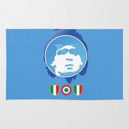 SSC Napoli Maradona Rug