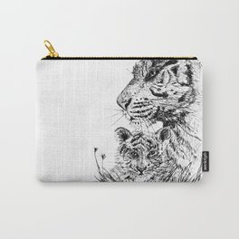Tiger's family Carry-All Pouch