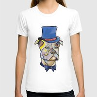 pitbull T-shirts featuring Fancy Pitbull by Animal Camp