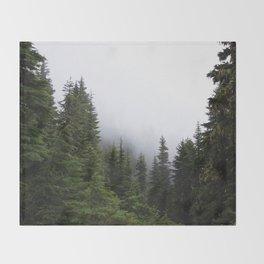 Simplify, simplify Throw Blanket
