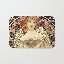 Art Nouveau Bath Mat