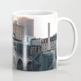 Minneapolis Minnesota Skyline at the River Coffee Mug