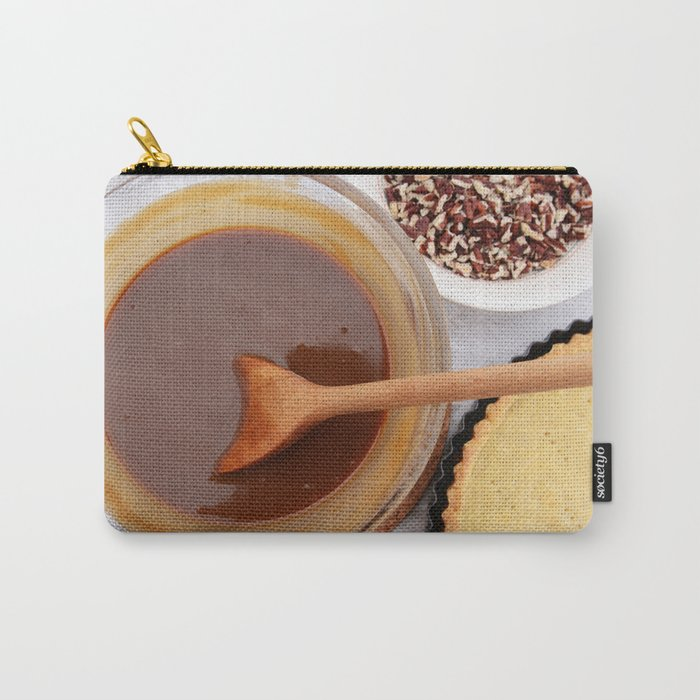 Baking pecan pie Carry-All Pouch