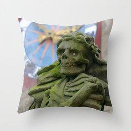 The Death | Der Tod Throw Pillow