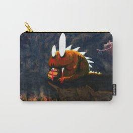 Dino Monster Design Carry-All Pouch