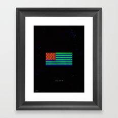 U.S.C.M.Y.K Framed Art Print