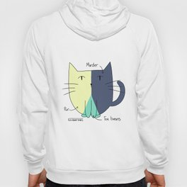 Cat Pie Chart Hoody