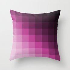 Pixel Gradient Throw Pillow