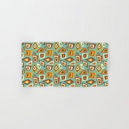 African Abstract Geometric Retro Hand & Bath Towel