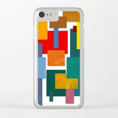Abstract #338 Clear iPhone Case
