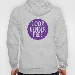 100% Gender Free Hoody