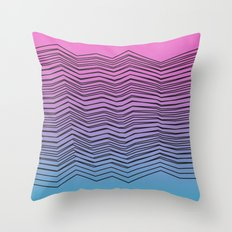 Stacks Throw Pillow
