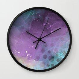 Alcohol Ink & Paint No. 18 Wall Clock