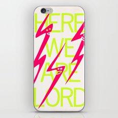 Lightning Speaks iPhone & iPod Skin