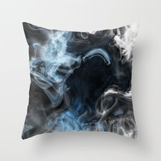 Watery Abyss Throw Pillow
