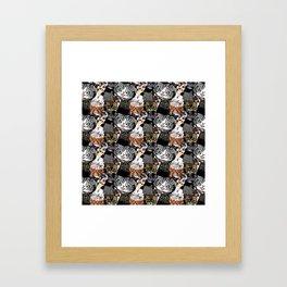 Derp Cats Framed Art Print
