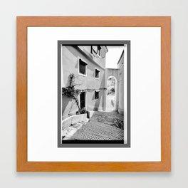SUNNY DAY IN ALFAMA Framed Art Print