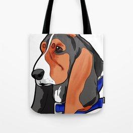 Basset Hound Dog Puppy Doggie Present Tote Bag