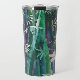Bambu oriental wall Travel Mug