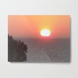 Norfolk sunset UK Metal Print