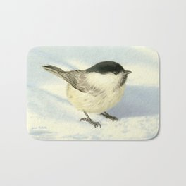 Chilly Chickadee Bath Mat