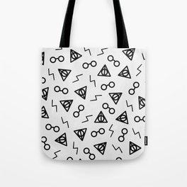 The Chosen One II (White) Tote Bag