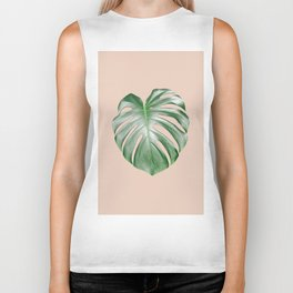 Monstera Dream #2 #tropical #decor #art #society6 Biker Tank