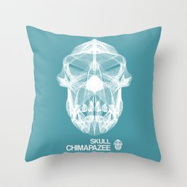 Skull Collection - Chimapazee - Throw Pillow