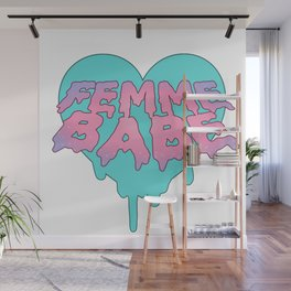 femme babe Wall Mural