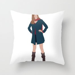Amy Pond: The Girl Who Waited Throw Pillow