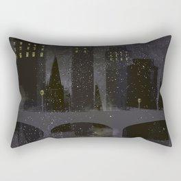 Edinburgh by night Rectangular Pillow