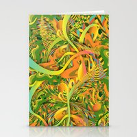 pineapple Stationery Cards featuring Pineapple by Danny Ivan
