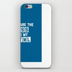 CSS To My HTML Funny Quote iPhone & iPod Skin