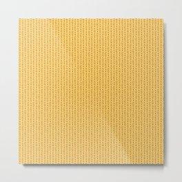 Scottie pattern Metal Print