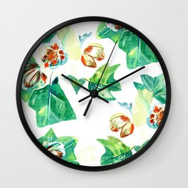 Exotic composition Wall Clock