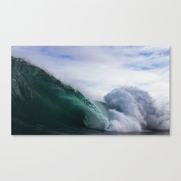 Crystal Caves Canvas Print