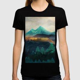 Green Wild Mountainside T-shirt