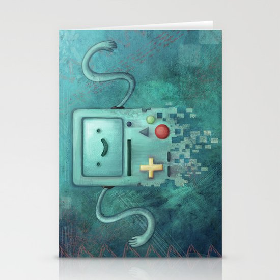 Beep Boop BMO  Stationery Cards