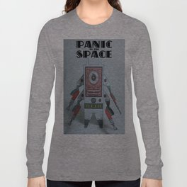 Panic At The Space Paper Toy Long Sleeve T-shirt