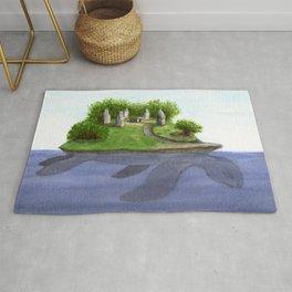 Turtle island Rug