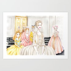 Marie Antoinette (3) Art Print