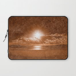 Acrylic Jersey Sunset - Sepia Fantasy Laptop Sleeve
