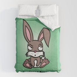 Confused Bunny Comforters