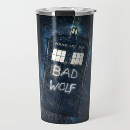 Bad Wolf TARDIS Travel Mug