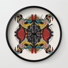 Rooster King Wall Clock
