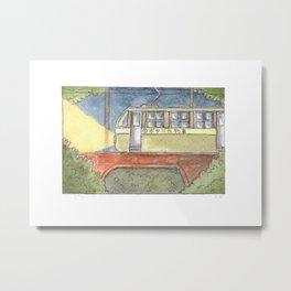 Botanica Train, Line 1 Metal Print