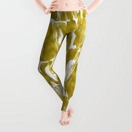 Gold Sugarcane Leggings
