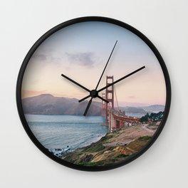 San Francisco Golden Gate Bridge Wall Clock