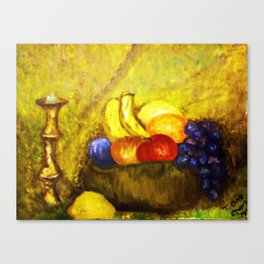 2ND OIL PAINTING Canvas Print