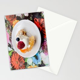 tart from fruit Stationery Cards